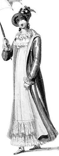 Regency Mode Damen Country Woman Walking dress1815.jpg